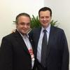 Roberto de Lucena e Gilberto Kassab no 3º Congresso UGT