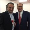 Roberto de Lucena e Geraldo Alckmin no 3º Congresso UGT