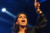 Aline Barros assina contrato com a Sony Music. (Foto: Alexandre Durão/G1)