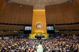 Representação de evangélicos do Brasil voltou a ser debatido entre países na ONU. (Foto: Johannes Eisele/AFP)