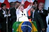 Presidente Dilma Rousseff foi reeleita neste domingo