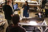 Equipe do Museu Field, de Chicago, trabalha para conservar múmia de 2.500 anos (Foto: AP Photo/Charles Rex Arbogast)