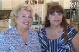 Donna Pavey (esquerda) e Sharon Glidden (direita), mãe e filha, respectivamente. (Imagem: CBN News)