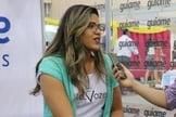 Laura Sampaio em entrevista para o Portal Guiame. (Foto: Guiame/Marcos Paulo Corrêa).
