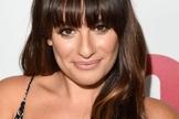 A atriz Lea Michele apostou em franja reta abaixo da sobrancelha. (Foto: Reprodução)