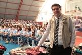 Mais de 7 mil alunos colaboraram com a arrecadação. (Foto: Denisson Di Berardino).