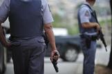 Policial Militar se recusou a usar arma em serviço, no Espírito Santo. (Foto: Diego Vara/Agência RBS)