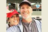 Hoje o casal comemora 34 anos de matrimônio. (Foto: Reprodução).