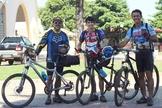 Os missionários vão enfrentar 200 quilômetros de pedalada. (Foto: Mariana Canto/Pedalando por Bíblias)