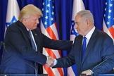 """Donald Trump tem sido considerado um """"aliado"""" de Israel. (Foto: NBC News)"""