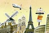 É possível economizar nas passagens aéreas em sua viagem à Europa. (Foto: Reprodução)