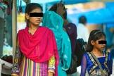 Na Red Light da Índia, há moças e meninas sendo oferecidas para a prostituição. (Foto: Jean Assis).