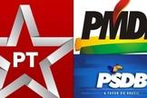 Partidos políticos. (Imagem: Bocão News)