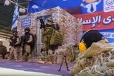 Cerimônia de formatura do jardim de infância teve crianças em apresentação do treinamento militar que recebem para matar civis e soldados israelenses. (Imagem: Youtube)