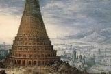 Quadro ilustra a Torre de Babel. (Imagem: O Malhete)