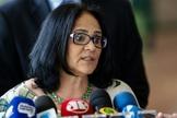 Damares Alves é ministra da Mulher, Família e Direitos Humanos. (Foto: Agência Brasil)