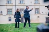 Pamela e Anderson Freire gravaram um clipe na França. (Foto: Divulgação)
