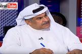 O escritor kuwaitiano Abdullah Al-Hadlaq em entrevista na TV Alrai. (Foto: Reprodução/YouTube)