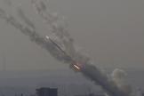 Mais de 250 foguetes já foram lançados contra Israel em menos de dois dias. (Foto: AP Photo)