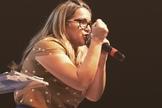 Paula Pereira é pastora e cantora. (Foto: Divulgação)