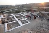 Ruínas do templo cananeu em Láquis, antiga cidade bíblica em Israel. (Foto: The Fourth Expedition To Lachish)