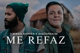"""Diego Karter está lançando a faixa """"Me Refaz"""", com participação da banda Discopraise. (Imagem: Divulgação)"""