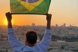 O pastor Joel Engel reforça a importância da conexão entre Brasil e Israel. (Foto: Ministério Engel)