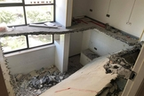 Imagem mostra interior de igreja demolida na China. (Foto: International Christian Concern)