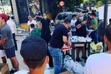 Igreja se mobiliza para levar alimentos às ruas de Beirute após explosão devastadora. (Foto: Instagram / Reprodução)