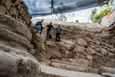 As escavações foram feitas no Getsêmani, no Monte das Oliveiras. (Foto: Yaniv Berman/Autoridade de Antiguidades de Israel)