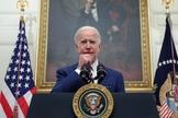 Joe Biden em discurso na Casa Branca, em 22 de janeiro de 2021. (Foto: Reuters/Jonathan Ernst)