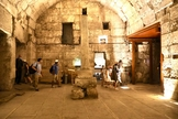 Restos do edifício de 2.000 anos recentemente escavado e que será aberto ao público. (Foto: Marc Israel Sellem/Jerusalem Post)
