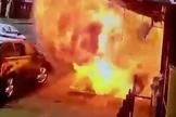 Barry West estava caminhando por uma calçada de Nova York quando a explosão ocorreu. (Foto: NBC New York)