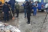 Os calendários foram confiscados no Aeroporto Internacional de Duchambé em dezembro e depois queimados. (Foto: Reprodução/RFE/RL)
