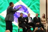 O pastor direcionou seu discurso na Expo Cristã às autoridades de São Paulo. (Foto: Guiame/Marcos Paulo Corrêa)