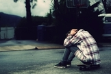 Homem triste. (Imagem: Getty)