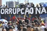 Nos últimos meses, as manifestações contra o atual governo do Brasil têm tomado as ruas das cidades de todo o país. (Foto: Atlas web)