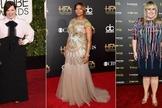 Atrizes Melissa McCarthy, Queen Latifah e Rebel Wilson. (Foto: Getty Images)
