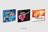 As três novidades vem em formato de caixa de CD, com ilustrações e textos especialmente produzidos para sensibilizar os jovens. (Foto: Divulgação).