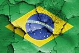 Bandeira do Brasil despedaçada. (Foto: Jusbrasil)