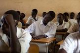 Escola no Sudão. (Foto: Benedict Desrus)