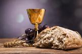 Pão e vinho. (Foto: Getty)