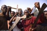Grupo de extremistas islâmicos. (Foto: AFP)