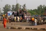 Õnibus na Índia. (Foto: Flickr)