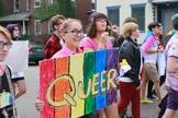 Jovens e adolescentes se manifestam a favor da ideologia de gênero. (Foto: Outright Vermont)