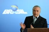 Michel Temer é o segundo presidente a ser peso após condenação na esfera judicial. (Foto: Marcelo Camargo/Agência Brasil)