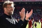 Jürgen Klopp, técnico do Liverpool, durante atuação no time da Primeira Liga inglesa. (Foto: Reprodução/Liverpool)