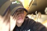 O relato da funcionária da FedEx, Amanda Riggan, se popularizou nas redes sociais. (Foto: Reprodução/Facebook)