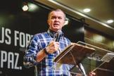 O pastor Luiz Hermínio afirma que Deus é glorificado pelo nosso conhecimento à respeito Dele. (Foto: Luiz Hermínio)
