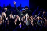 """Kanye West no palco durante apresentação do álbum e filme """"Jesus Is King"""" no The Forum em 23 de outubro de 2019 em Inglewood, Califórnia. (Foto: Reprodução/Kevin Winter/Getty)"""